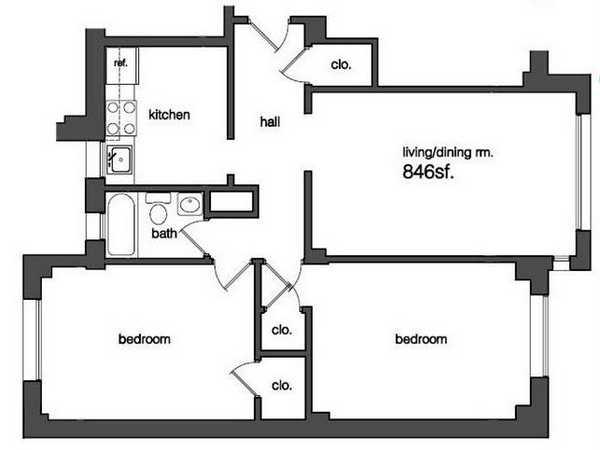 Plans The Sedgewick Apartments In Washington Dc