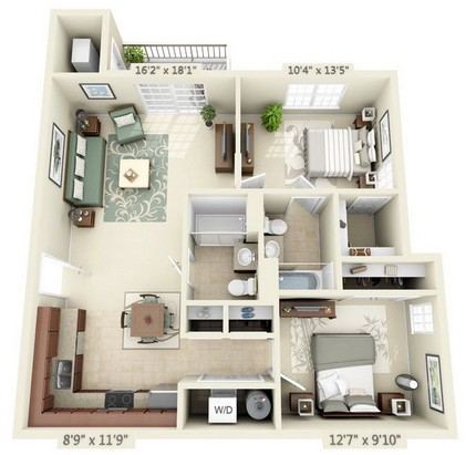 Two Bedroom Phase 1