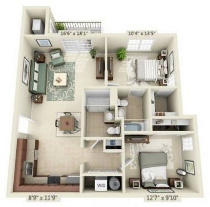 Two Bedroom Phase 2