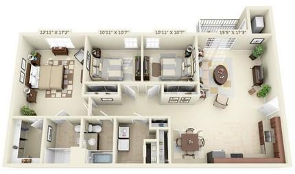 Three Bedroom Phase 1