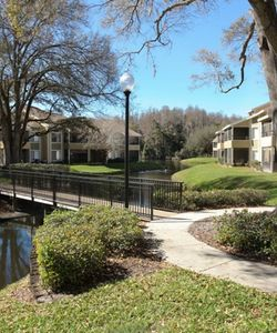 Enjoy the Beautiful Grounds of Our Northlakes Tampa Apartments