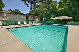 Treetop Garden Apartments in  Fayetteville NC Apartment Homes Offer a Variety of Upscale Amenities Including a Swimming Pool with A Covered Cabana