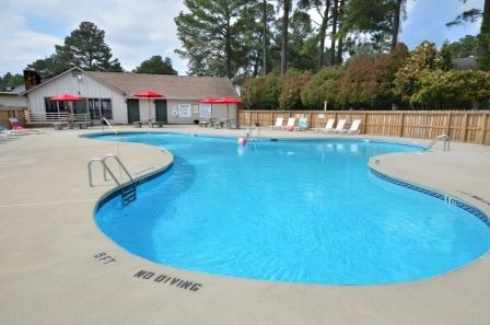 Our Douglas Byrd Fayetteville Apartments Offer Great Community Features, Including a Swimming Pool with Covered Cabana