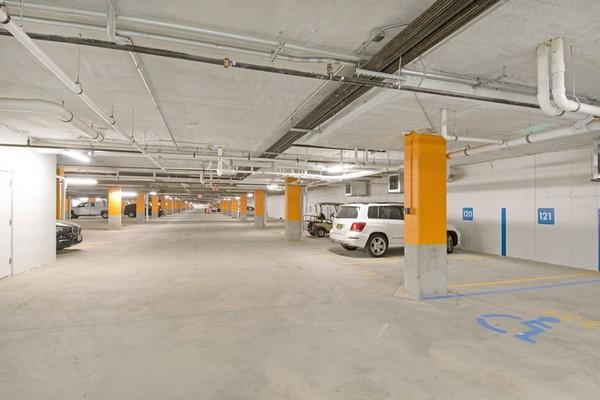 Image of parking lot building