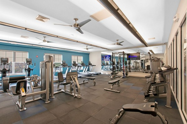 Interior Image of gym with fitness equipment