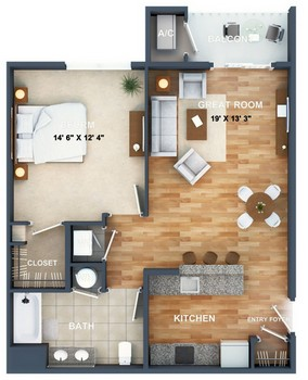 Layout of Tribeca