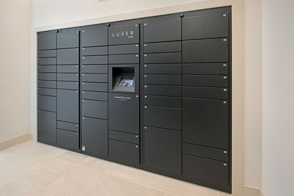 Interior image electronic mailboxes