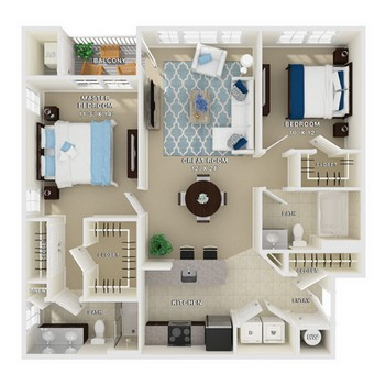 Layout of Gramercy