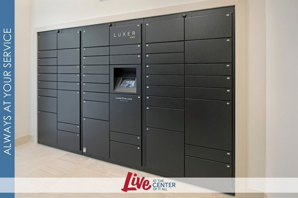 Image of resident electronic mailboxes