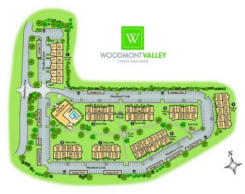 Woodmont Valley Site Plan