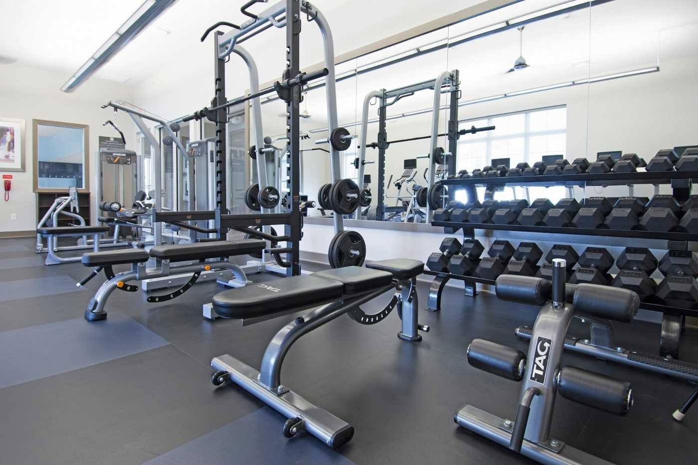 Strength training weights and equipment